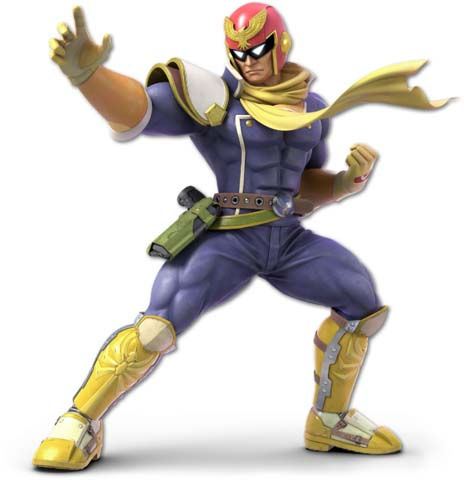 How to counter Captain Falcon with Inkling in Super Smash Bros. Ultimate