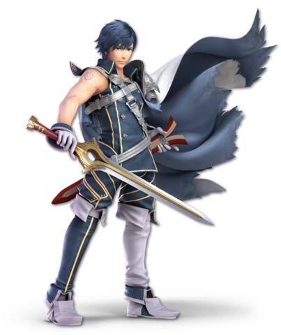 Super Smash Bros. Ultimate: Chrom vs Inkling