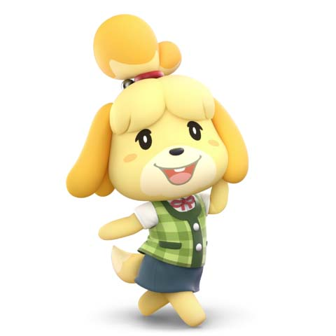 How to counter Isabelle with Wii Fit Trainer in Super Smash Bros. Ultimate