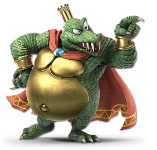 How to counter King K. Rool with Mii Brawler in Super Smash Bros. Ultimate