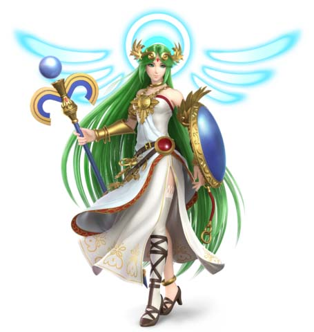 How to counter Palutena with Mii Swordfighter in Super Smash Bros. Ultimate