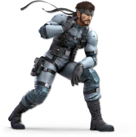 Super Smash Bros. Ultimate: Snake vs Mii Swordfighter