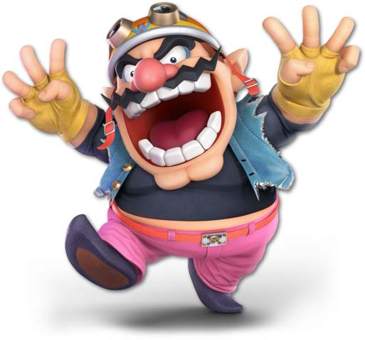 Super Smash Bros. Ultimate: Wario vs Bowser