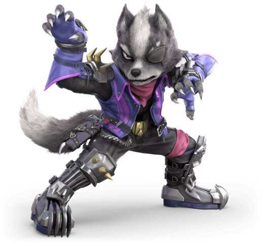 How to counter Wolf with Mii Swordfighter in Super Smash Bros. Ultimate